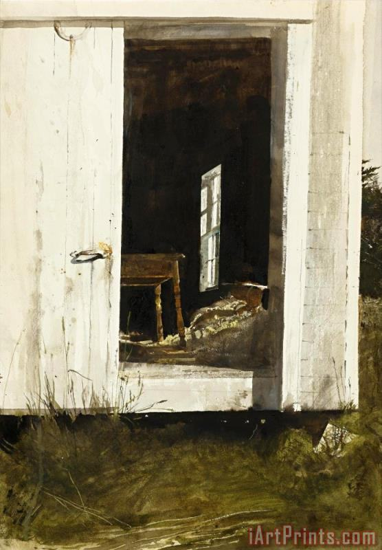 Andrew Wyeth The New Table 1964 Painting The New Table