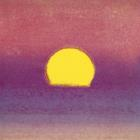 Sunset C 1972 Pink Purple Yellow by Andy Warhol
