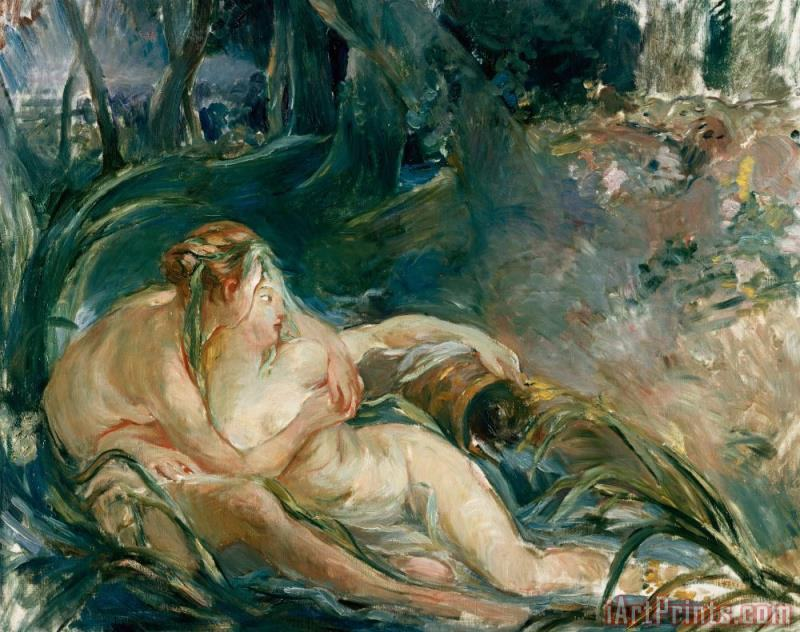 Apollo Appearing to Latone painting - Berthe Morisot Apollo Appearing to Latone Art Print