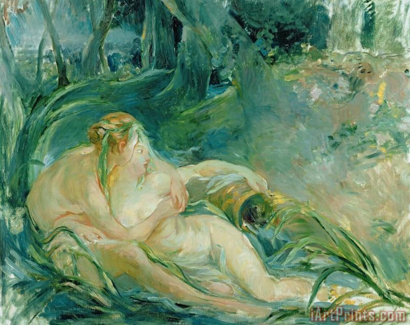 Berthe Morisot Jupiter and Callisto Art Print