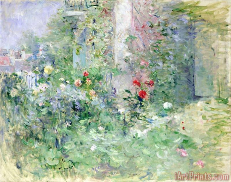 Berthe Morisot The Garden at Bougival Art Print