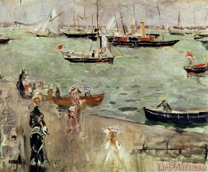 The Isle of Wight painting - Berthe Morisot The Isle of Wight Art Print