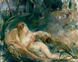 Apollo Appearing to Latone by Berthe Morisot
