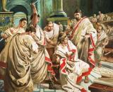 The death of Julius Caesar by C L Doughty