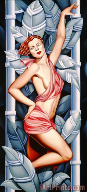 In the Forest painting - Catherine Abel In the Forest Art Print