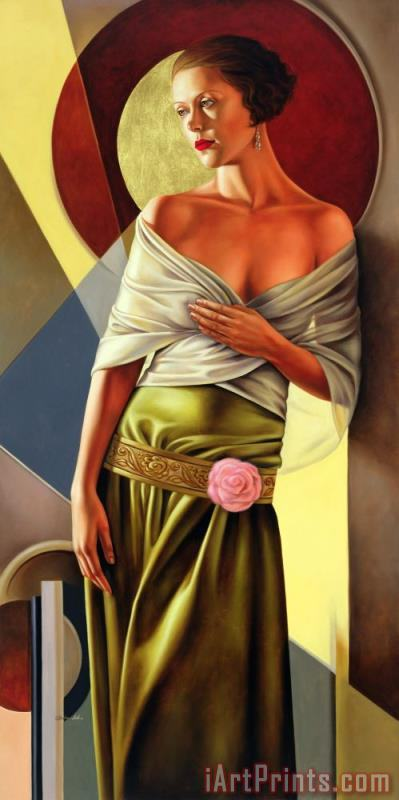 Reflections of Grace painting - Catherine Abel Reflections of Grace Art Print