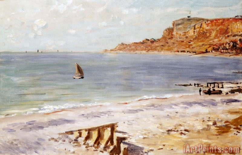 Claude Monet Seascape at Sainte Adresse Art Print
