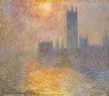 The Houses of Parliament at Sunset by Claude Monet