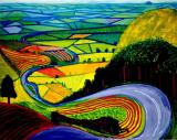 David Hockney Garrowby Hill by Collection