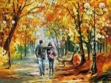 Going Home by Leonid Afremov
