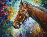 Horse - Commissioned Painting by Leonid Afremov