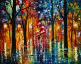 Rain Of Fire by Leonid Afremov