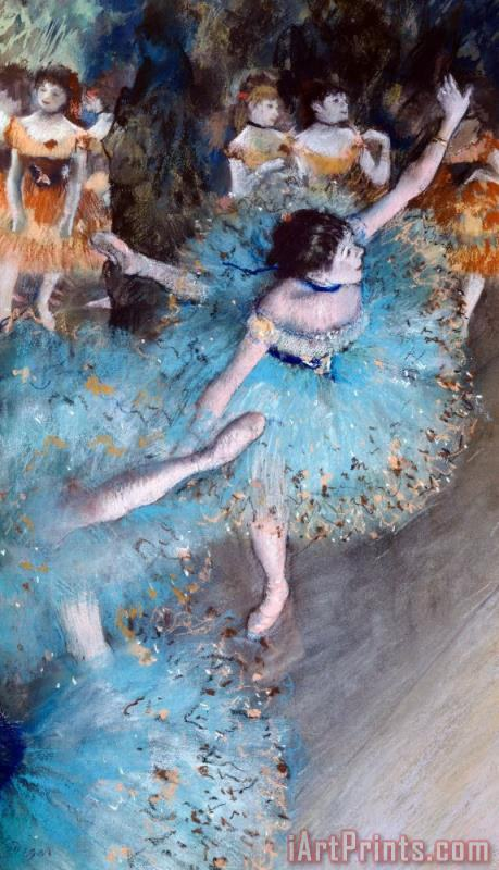 Edgar Degas Ballerina On Pointe Art Print