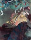 Ballerina and Lady with a Fan by Edgar Degas