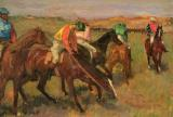 Before the Races by Edgar Degas