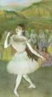 Pink Dancer by Edgar Degas