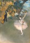 The Star Or Dancer On The Stage by Edgar Degas