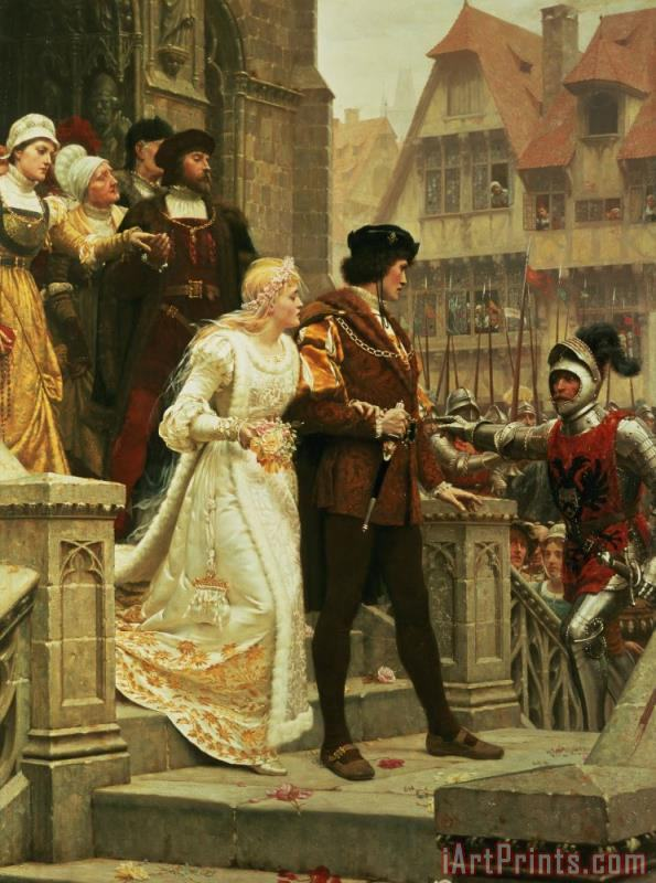 Edmund Blair Leighton Call to Arms Art Print
