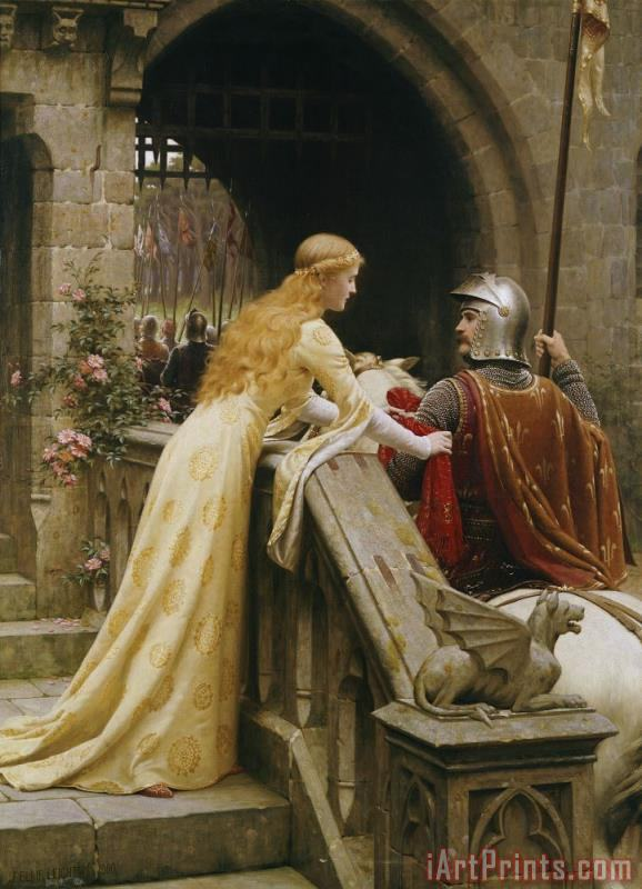 Edmund Blair Leighton God Speed Art Print
