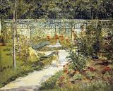 The Garden of Manet by Edouard Manet