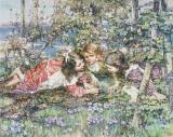 A Summer Idyll by Edward Atkinson Hornel