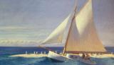 Sailing Boat by Edward Hopper