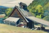 Vermont Sugar House by Edward Hopper