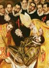 The Burial Of Count Orgaz by El Greco Domenico Theotocopuli