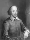 Portrait Of William Shakespeare by English School