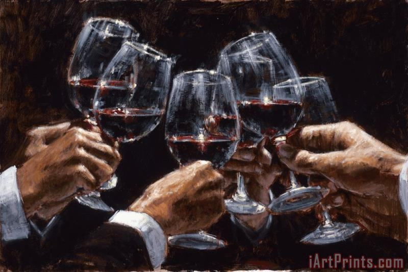 Fabian Perez For a Better Life VI Art Painting