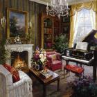 Grand Piano Room by Foxwell