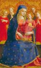 Madonna And Child With Angels by Fra Angelico
