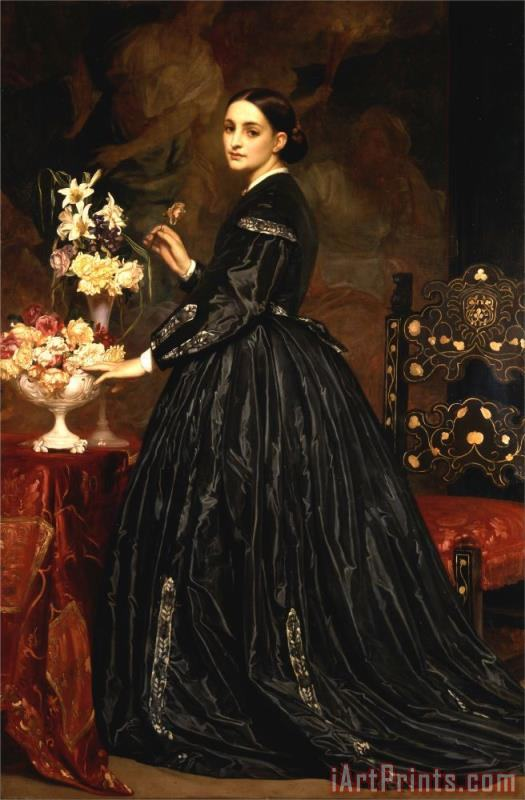 Frederic Leighton Mrs. James Guthrie Art Print