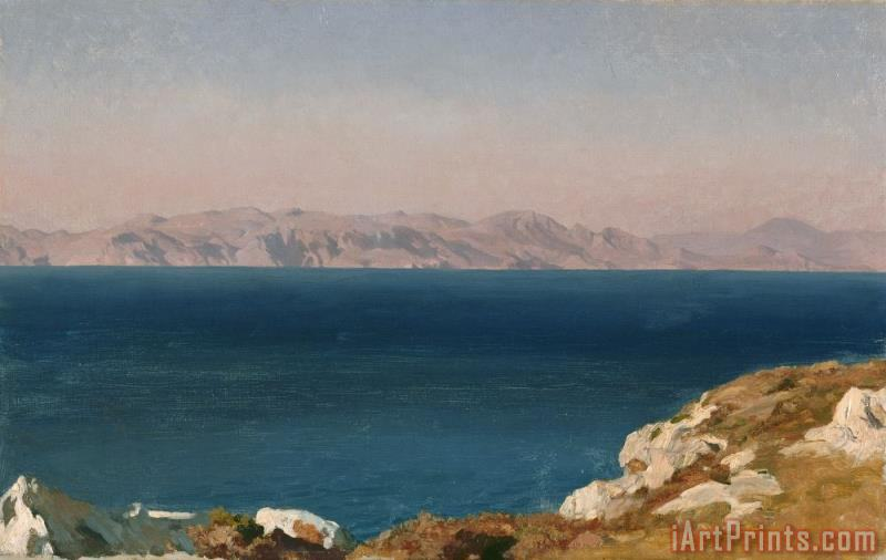 Frederic Leighton The Isle of Chios Art Print
