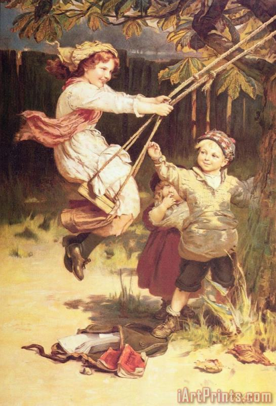 Frederick Morgan After School Art Print