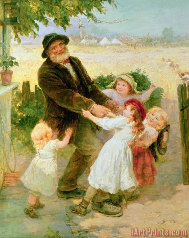 Going to the Fair painting - Frederick Morgan Going to the Fair Art Print