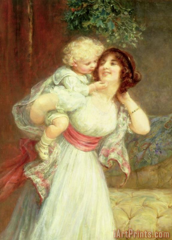 Mothers Darling painting - Frederick Morgan Mothers Darling Art Print
