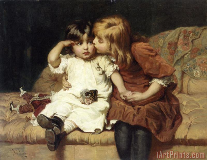 The Consolation painting - Frederick Morgan The Consolation Art Print
