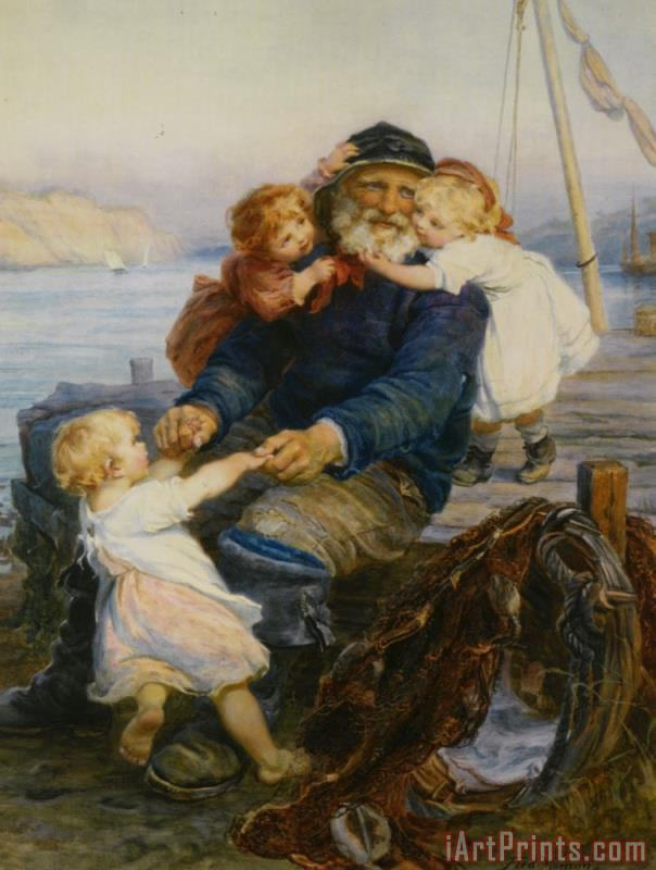Frederick Morgan Which One Do You Love Best Art Print