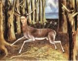 1946 Prints - The Wounded Deer 1946 by Frida Kahlo