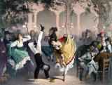 Quadrille at the Bal Bullier by G Barry