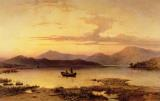 Loch Etive from Bonawe in the Evening by George Edwards Hering