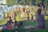 Sunday Afternoon on the Island of La Grande Jatte by Georges Pierre Seurat