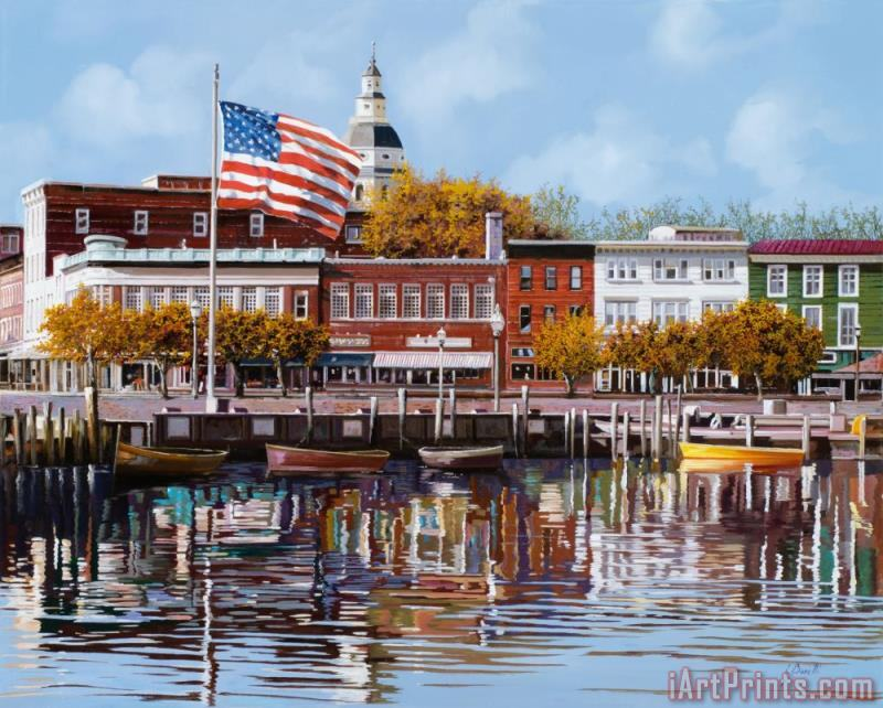 Collection 7 Annapolis Art Print