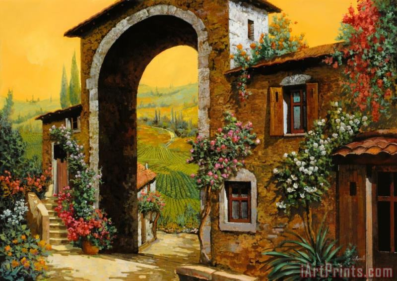 Arco Di Paese painting - Collection 7 Arco Di Paese Art Print