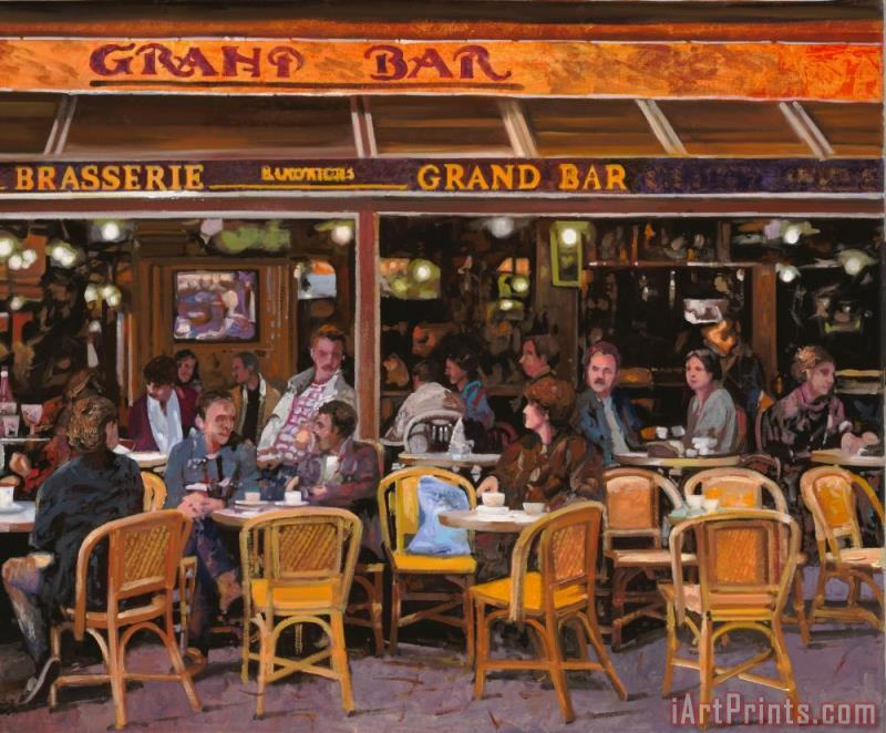 Grand Bar painting - Collection 7 Grand Bar Art Print