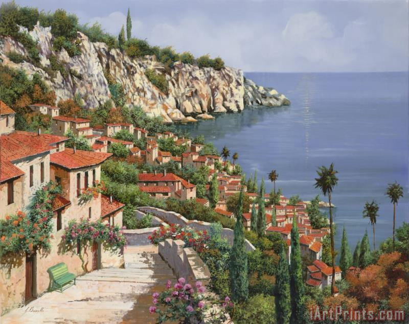 La Costa painting - Collection 7 La Costa Art Print