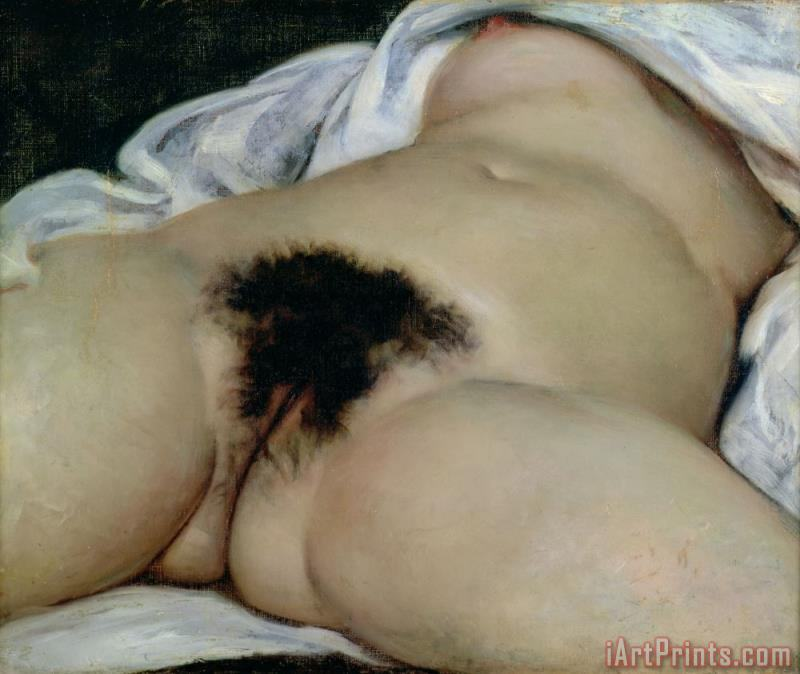 Gustave Courbet The Origin of the World Art Print