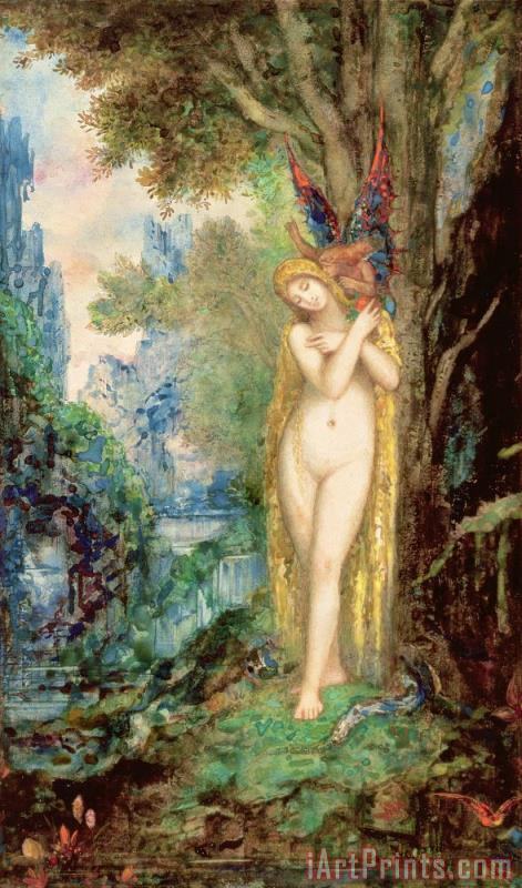 Eve painting - Gustave Moreau Eve Art Print