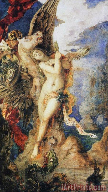 Perseus And Andromeda painting - Gustave Moreau Perseus And Andromeda Art Print